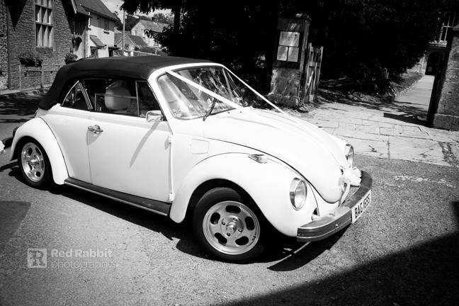 VW Wedding beetle