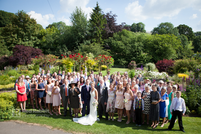 Group photography wedding gangs mill