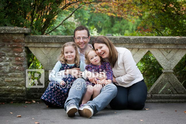 family photography Bath Botanic Gardens